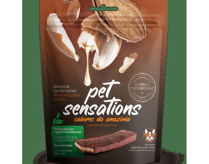 Bifinho Pet Sensations Sabores Da Amazonia 65G