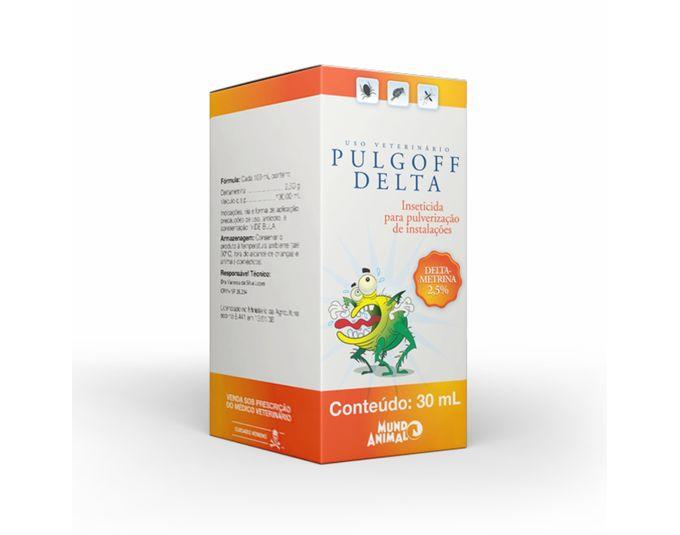 Pulgoff Delta Antipulgas - 30 ml