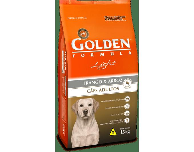 Golden Fórmula Cães Adultos Light - 15kg
